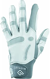 ee9e1f34d5e ECCO Ladies Leather Golf Glove White Left Hand (For Right Hand) (L ...