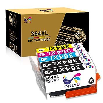 ONLYU Cartuchos de Tinta compatibles para HP 364 XL Compatible ...