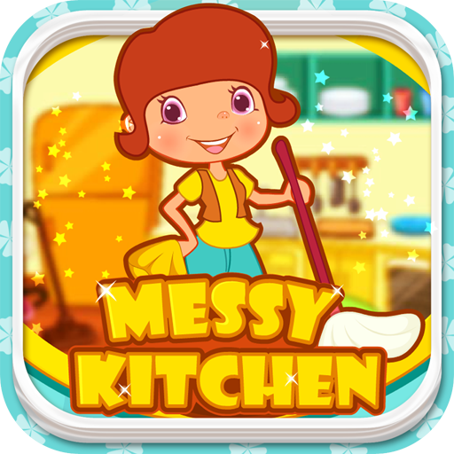 Messy Kitchen - Clean Up Games
