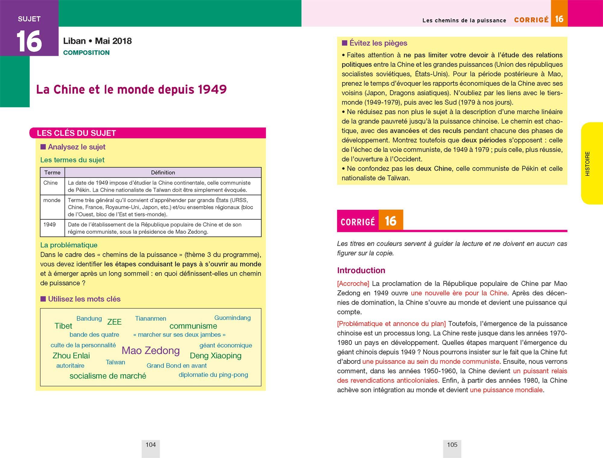 Annales Annabac 2019 Histoire-Géographie Tle L, ES: sujets et corrigés du bac Terminale L, ES: Amazon.es: Christophe Clavel, Jean-François Lecaillon: Libros ...