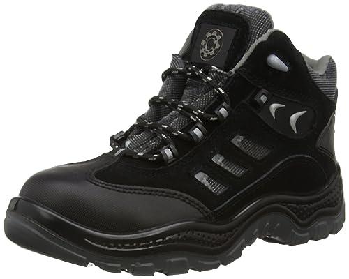 SecurityLine - Zapatillas para hombre, color negro, talla 11