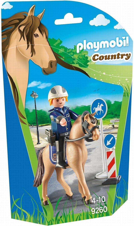 Playmobil-9260 Policía Montada, Multicolor (9260)