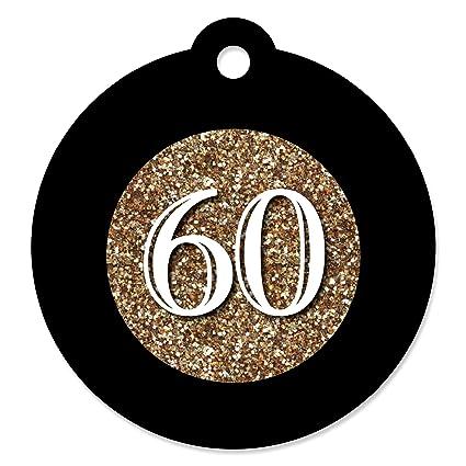 Amazon.com: Cumpleaños 60th – Oro – Fiesta de cumpleaños ...