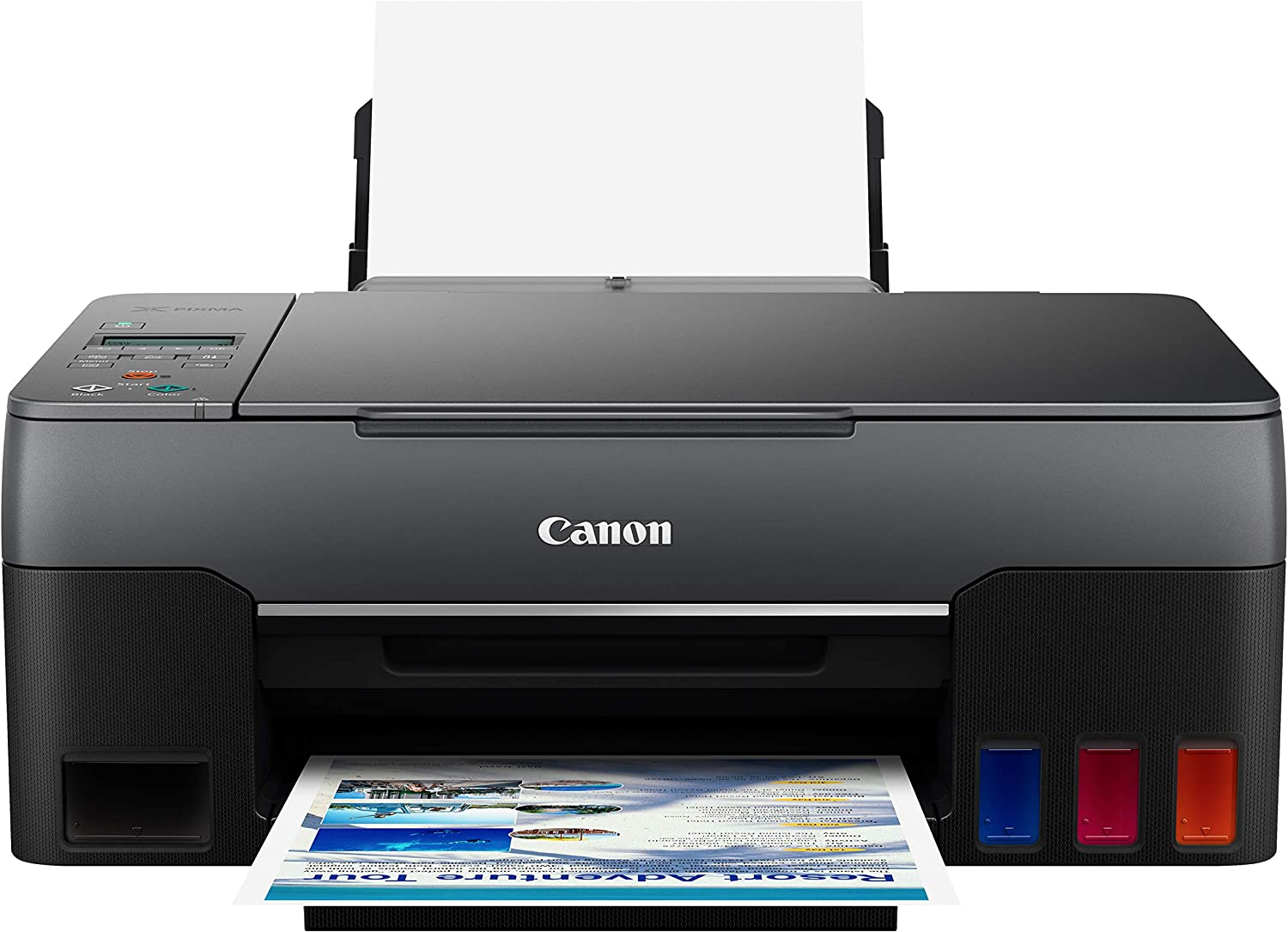 Canon G3260 All-in-One Printer | Wireless Supertank (Megatank) Printer | Copier | Scan, with Mobile Printing, Black, one Size (4468C002)