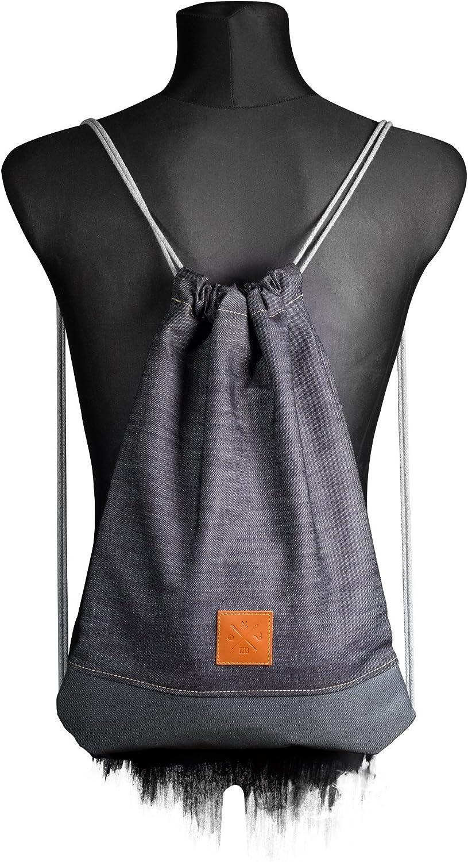 Rucks/äcke Jutebeutel Sportbeutel Jeans Turnbeutel M13 Manufaktur13 Denim Sports Bags Backpacks Gym Bags Tasche