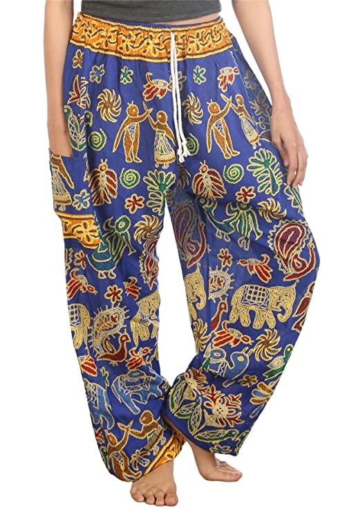 Lofbaz Mujeres Harén Pantalones Arabes De Cintura ...