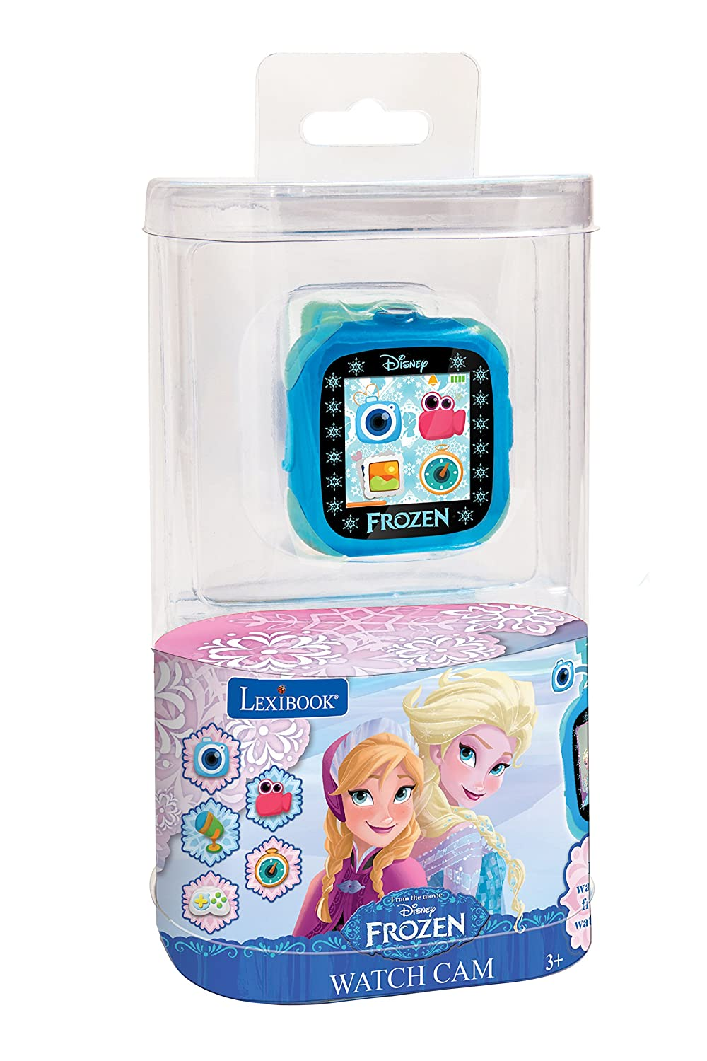 Amazon.es: Disney Frozen - Reloj, cámara smartwatch, Color Azul (Lexibook DMW100FZ)