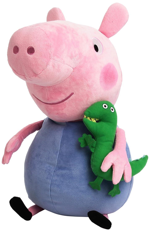 Ty Peppa Pig - Cerdito de peluche George UK 56019: Amazon.es: Juguetes y juegos