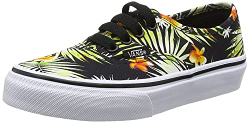 Amazon.com   Vans Boys' UY Authentic Low-Top Sneakers, Black (Decay ...