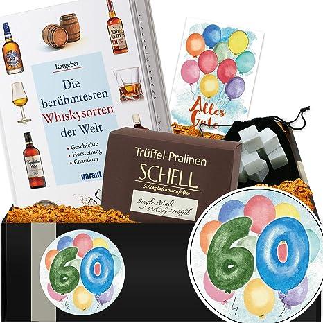 60 Geburtstag Geschenkpaket Whiskykenner 60 Geburtstag