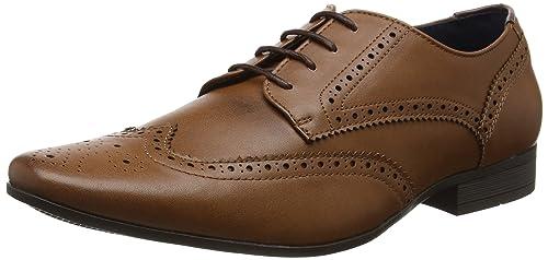 4bd724cd23e Burton Menswear LondonRedford - Zapatos de Vestir Hombre, Color marrón,  Talla 46: Amazon.es: Zapatos y complementos