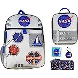 "NASA Space Explorer 16"" Backpack 5 PC Set"