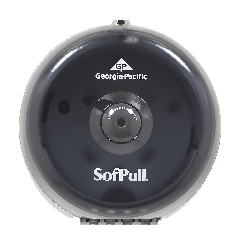 Amazon.com: SofPull 56513 Mini humo de alta capacidad Dispensador Centerpull Papel higiénico: Home Improvement
