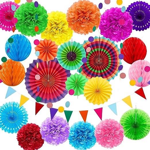 Amazon.com: Zhanmai 25 piezas de decoración para fiestas ...