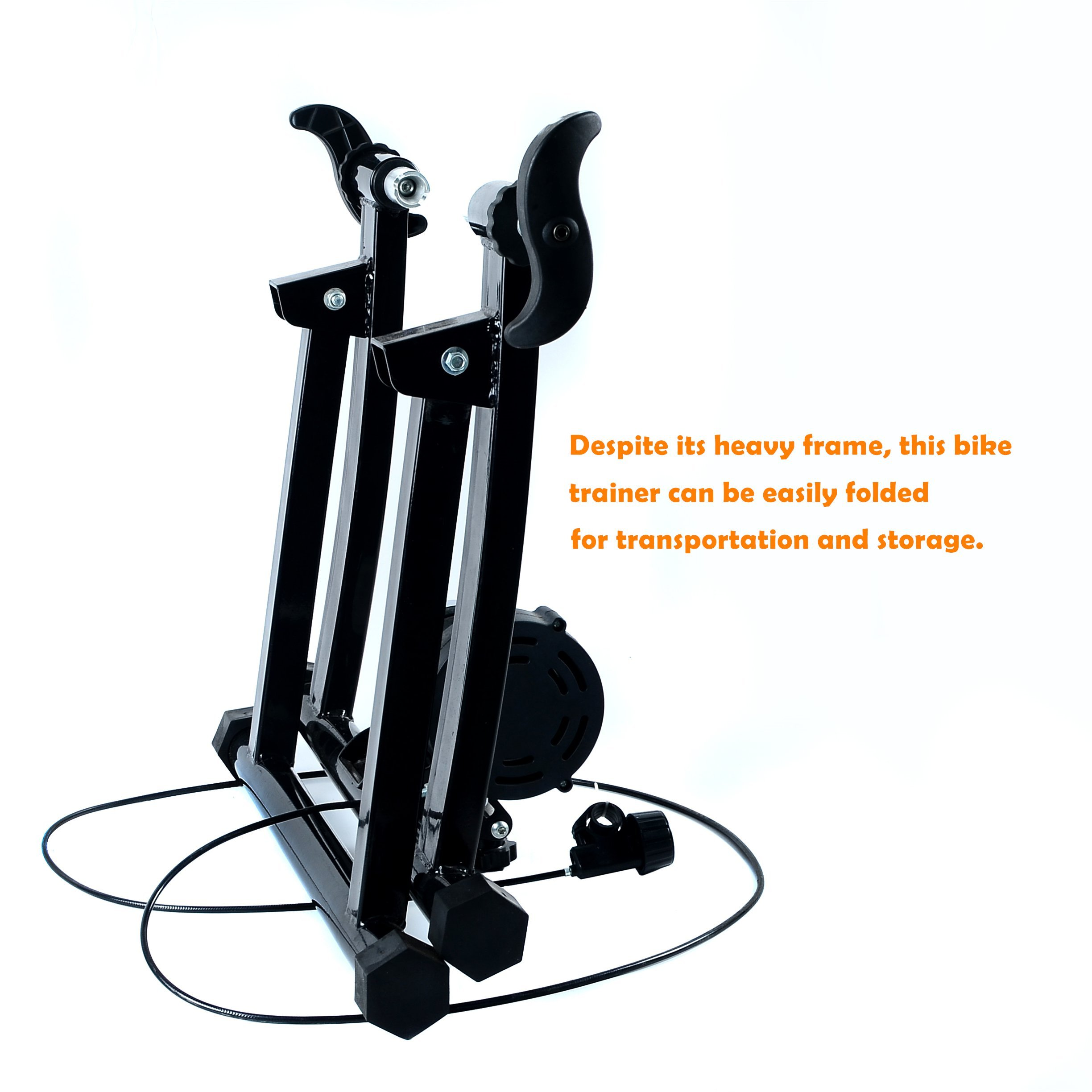 Ohuhu Magnet Steel Bike Bicycle Indoor Exercise Trainer Stand by Ohuhu (Image #6)