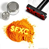 SFXC® Thermal Colour Changing Thermochromic Pigment for Dye, Paint & Resin - Orange Leaf to Lemon Haze 10 grams