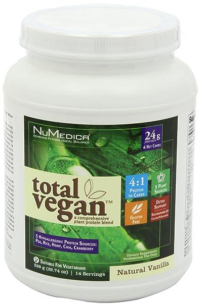 NuMedica Total Vegan Vanilla 14 Servings by SETAF: Amazon.es ...
