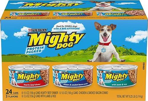 Purina Mighty Dog Ground Wet Dog Food Variety Pack