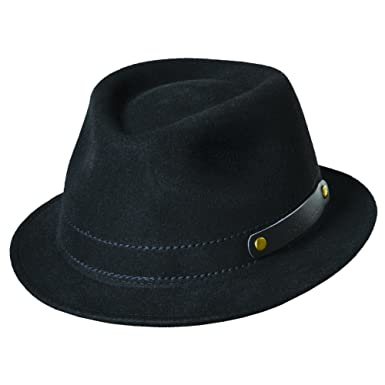 Woolrich Men s Crushable Wool Felt Rollup Four Season Fedora Hat at ... 2bc1ecfbb64