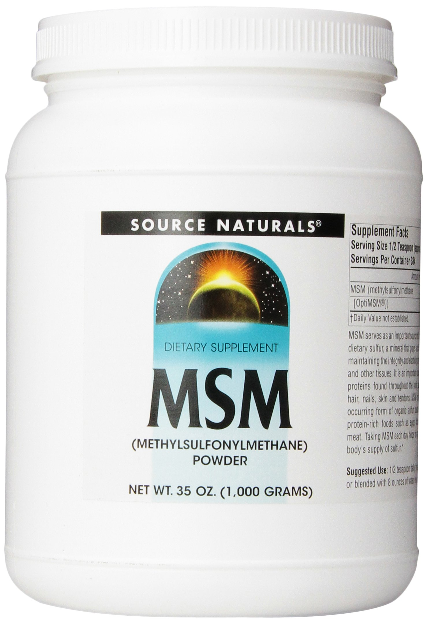 SOURCE NATURALS Msm, 35 Ounce