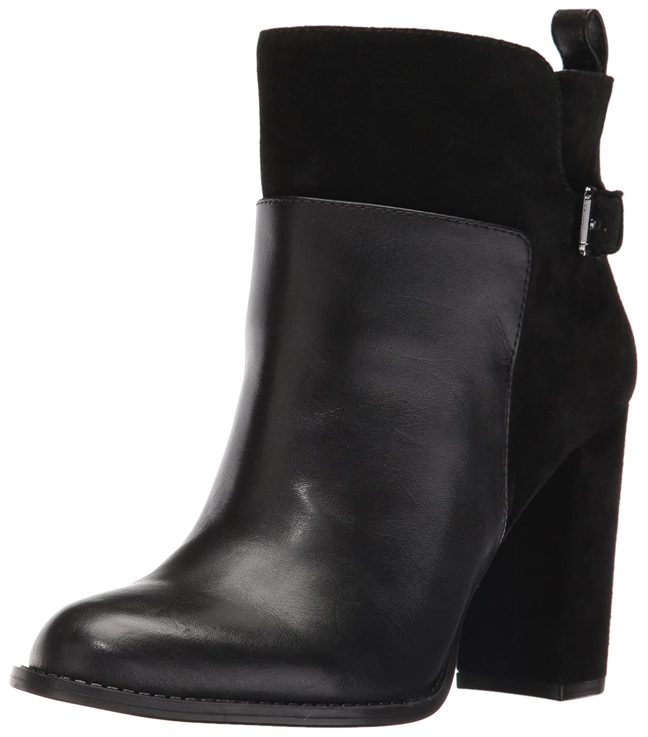 Nine West Women's Quinah Ankle Bootie B0059FUTAM 7.5 B(M) US|Black
