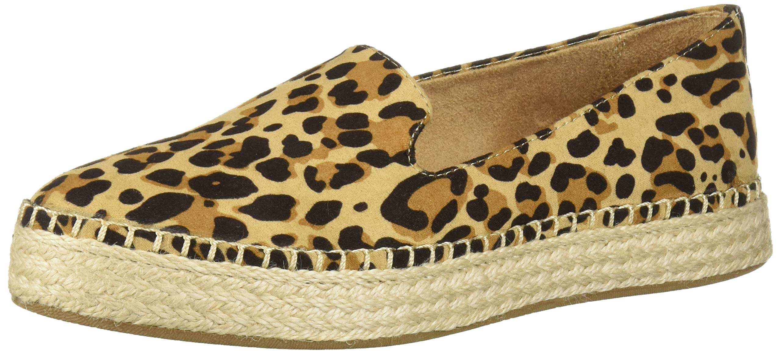 Dr. Scholl's Shoes Women's Find Me Loafer Flat, Tan/Black Leopard, 9 by Dr. Scholl's Shoes