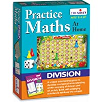 Creative Educational Creative Maths Practice Maths at Home Division Board Game