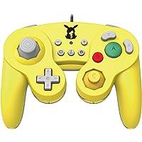 Hori 263131 Controller Smash Bros Gamepad, Pikachu, Geel (Nintendo Switch)