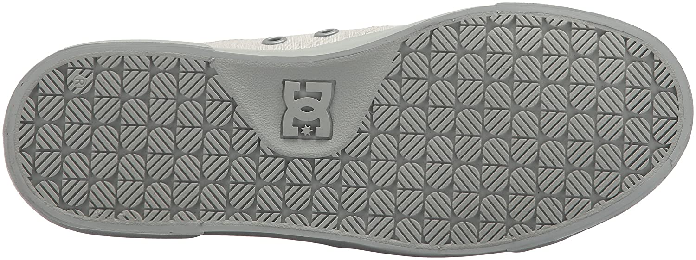 DC Shoe Women's Danni Tx Se Skate Shoe DC B0731YM7KS 6 B(M) US|Grey/Grey/Grey 911067
