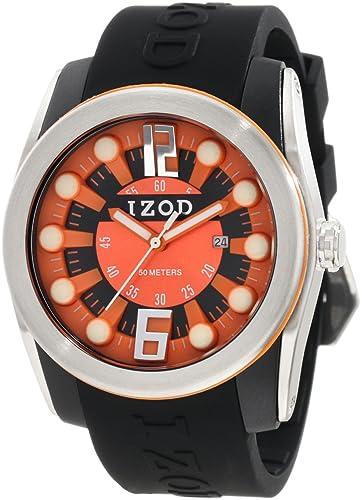 Amazon.com: Izod IZS1 de los hombres/3 BLK/Orange Sport 3 ...