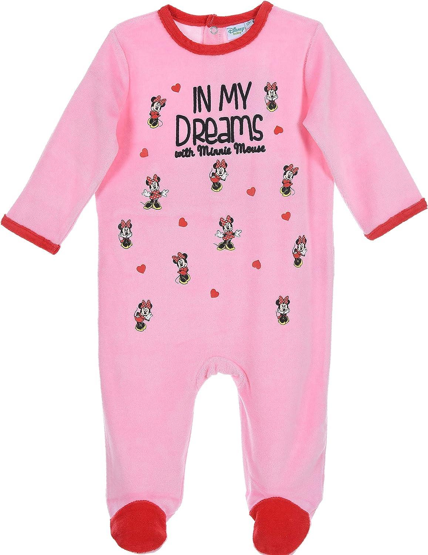 Minnie Mouse Baby M/ädchen Lang Pyjama Schlafanzug
