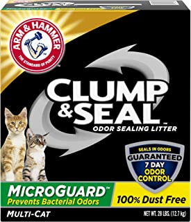 product image for Arm & Hammer Clump & Seal MicroGuard Cat Litter, 28lb