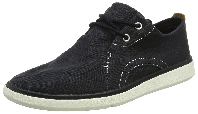 TALLA 41.5 EU. Timberland Gateway Pier Canvas Sensorflex, Zapatos de Cordones Oxford para Hombre