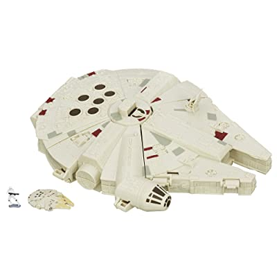 Star Wars The Force Awakens Micro Machines Millennium Falcon Playset: Hasbro: Toys & Games