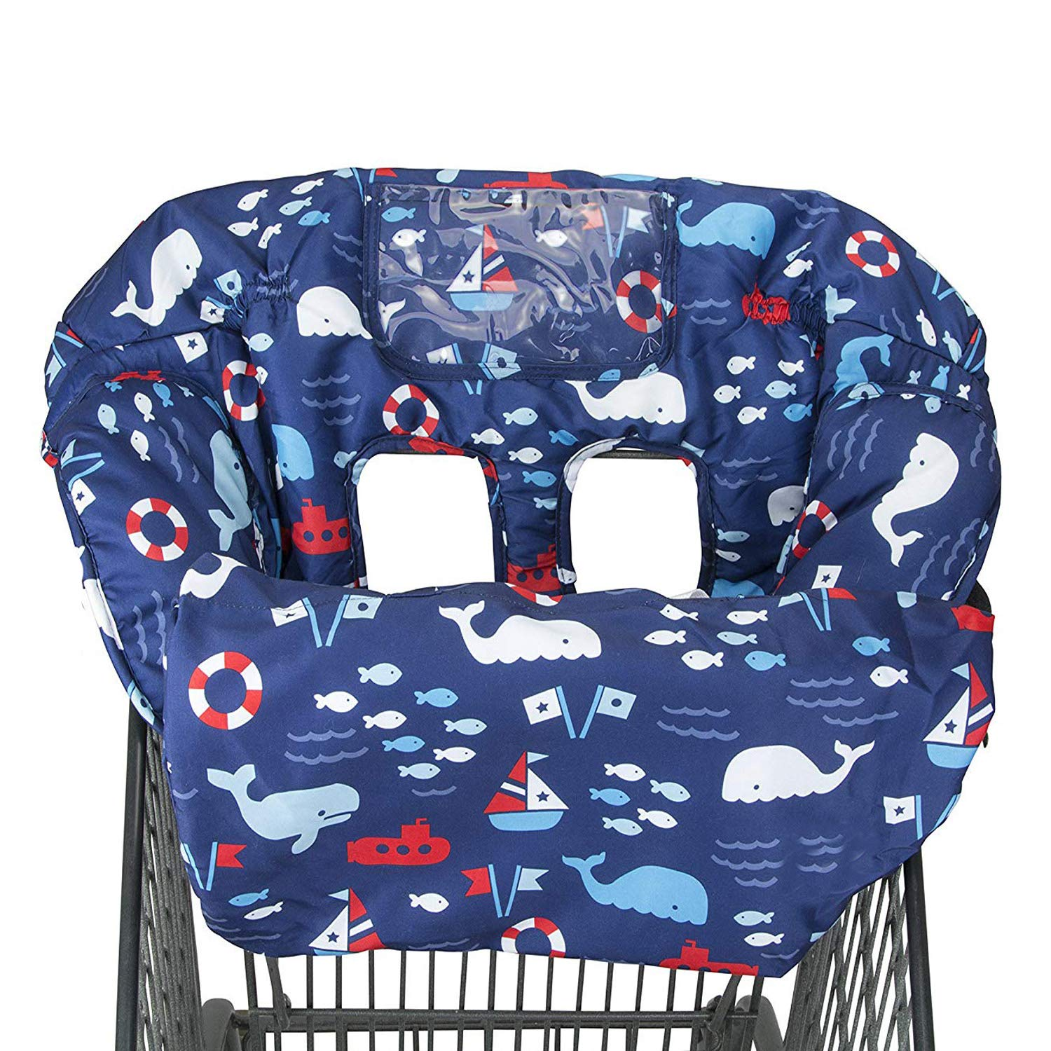 Kids Shopping Cart Cover Seat Baby Soft Comfortable Mat Portable Safe Owl Cover
