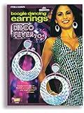 Forum Novelties Inc - 70s Disco Boogie Dancing Earrings