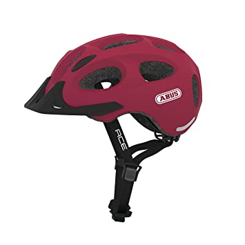 Abus 726163 - Casco Cherry Red M