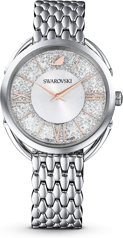 Swarovski Reloj analógico para Mujer de Cuarzo con Correa en Metal 5455108