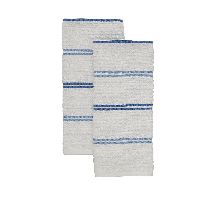Kitchenaid Adastral Stripe Kitchen Towel, One Size, Cornflower