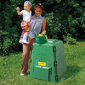 Exaco Juwel Austrian Compost Bin, 77 Gallon