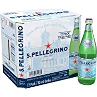 San Pellegrino Sparkling Natural Carbonated Mineral Water, 750 ml (Pack of 12)