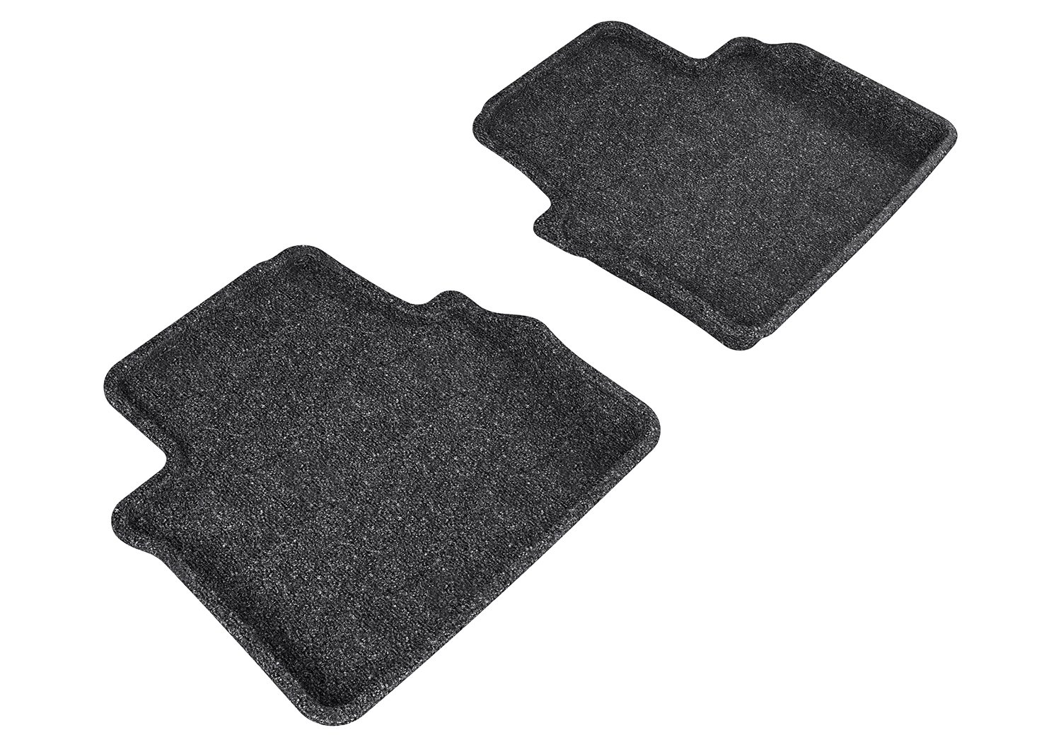 Gray L1CD01012201 3D MAXpider Front Row Custom Fit All-Weather Floor Mat for Select Cadillac CTS Models Classic Carpet