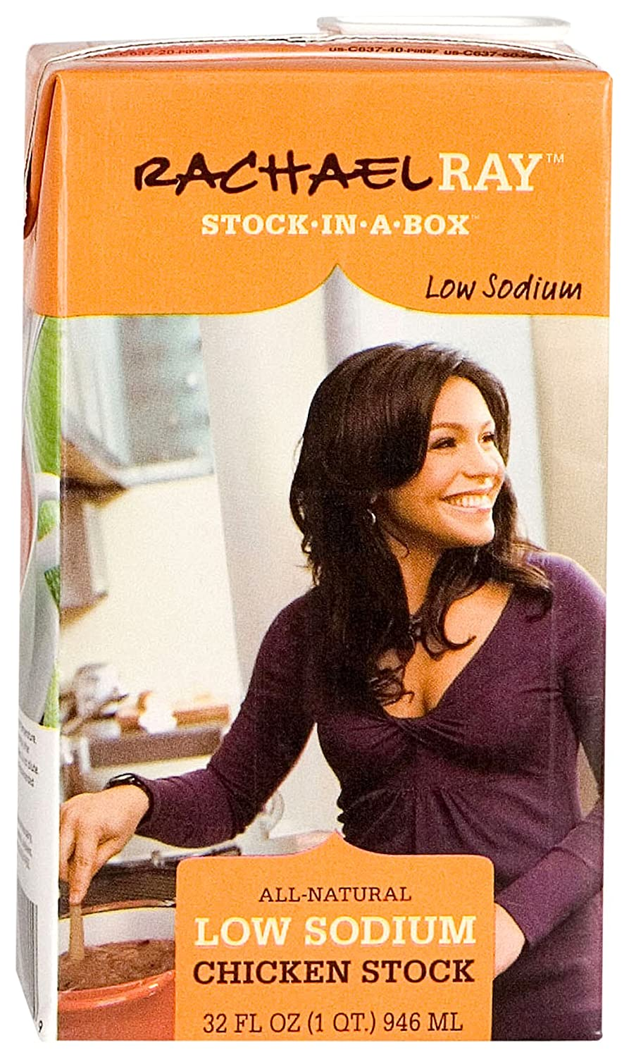 Amazon Com Rachael Ray Stock In A Box Rachael Ray Low Sodium Chicken Stock 32 Ounce Pack Of12 Rachel Ray Stock In A Box Grocery Gourmet Food