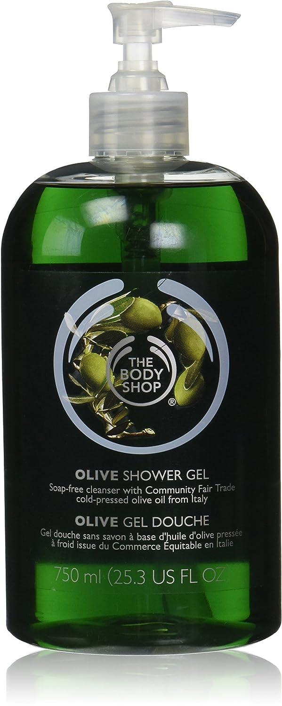 Amazon.com : The Body Shop Olive Shower Gel Jumbo, 25.3 Fluid ...