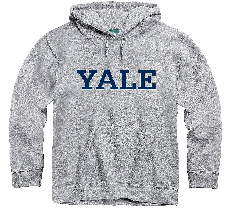 Ivysport Hooded Sweatshirt Classic Logo Premium Grey Heavyweight Cotton Blend