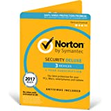 Norton Security Deluxe | 3 Devices | 1 Year | PC/Mac/Android | Download