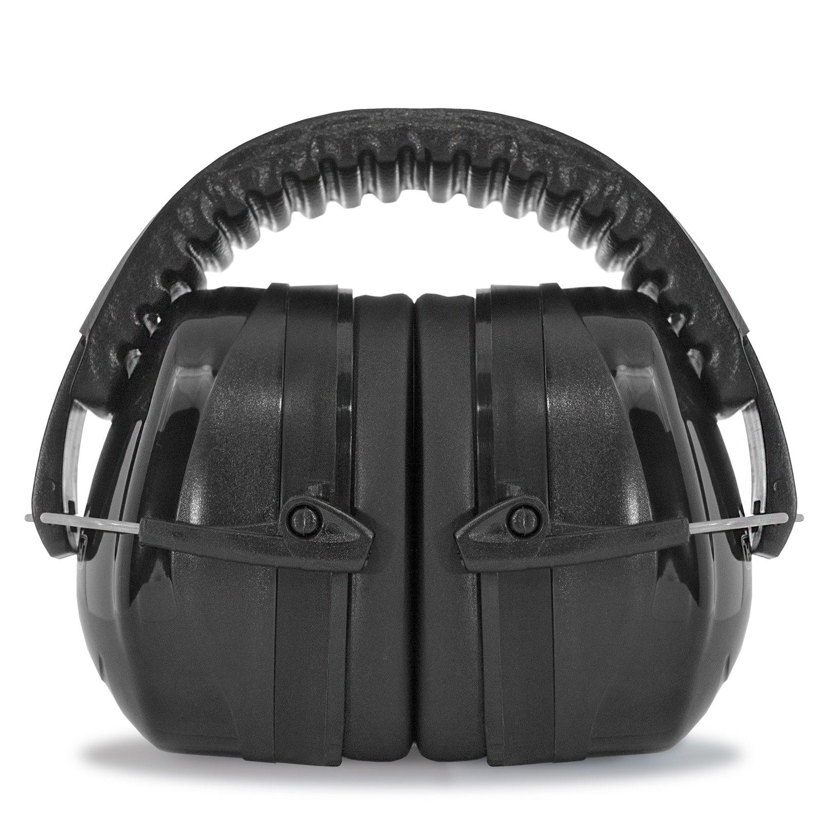 JORESTECH EAR MUFF LUXURY STYLE 27 dB NRR Premium Quality (Black)