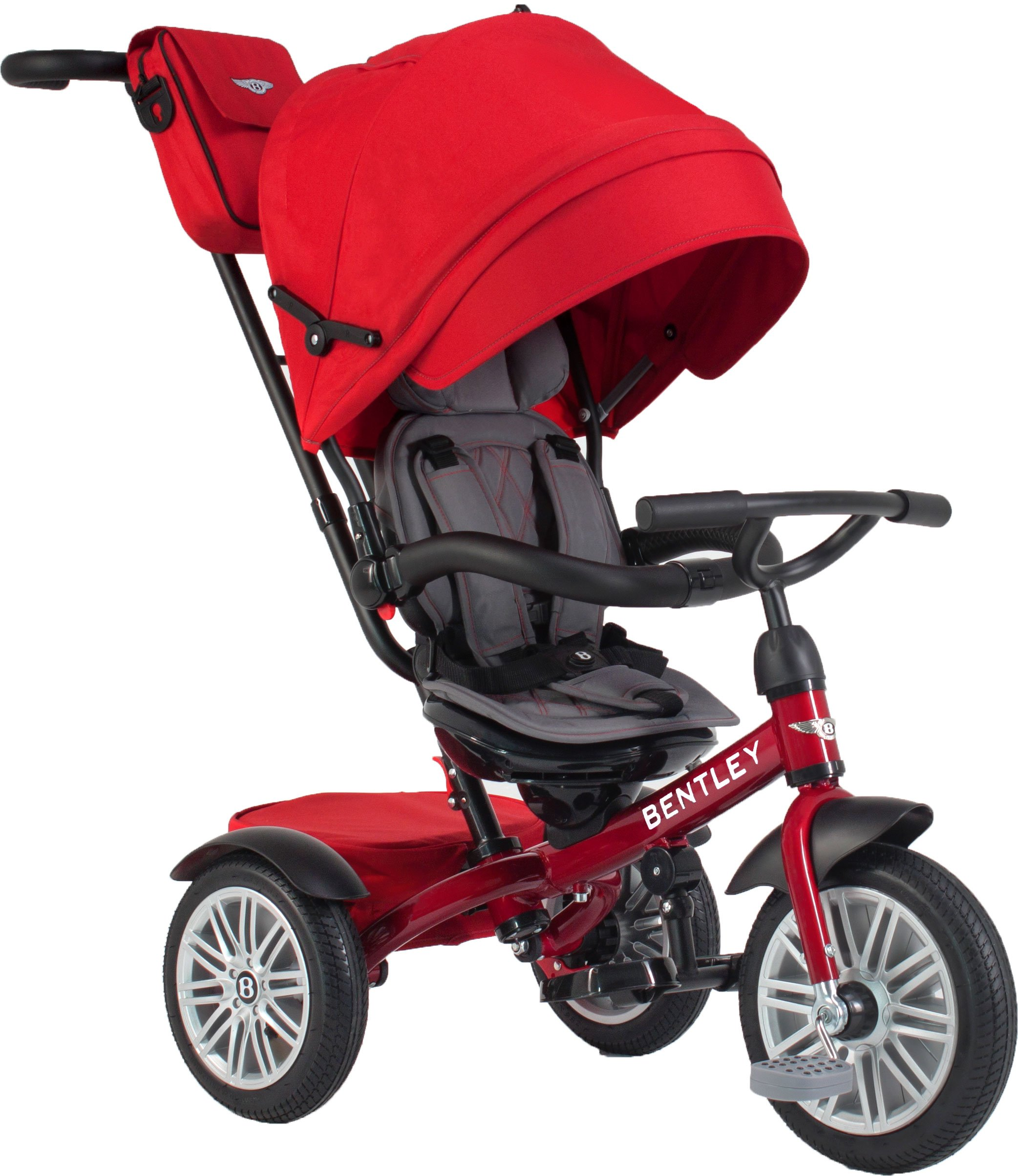 Bentley Toddler Stroller / Trike (Dragon Red)