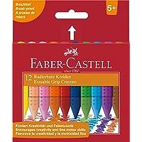 Faber-Castell 122520 krijt kunststof grip effacables 12 x