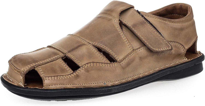 KS - 02 - Zapatos Sandalias para Hombre - Ideales para Verano - Cuero